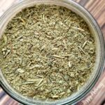 Close up of homemade poultry seasoning