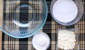 Dry ingredients for bath bombs without citric acid