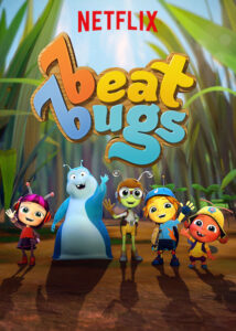 Beat Bugs by Netflix Cover Image.