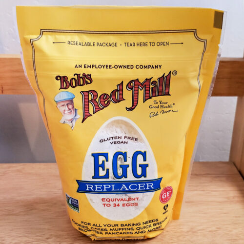 Bob's Red Mill Egg Replacer.